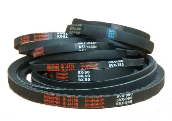 """Industrial /& Lawn Mower V Belt B54 5L570 5//8/"""" x 57/"""""""